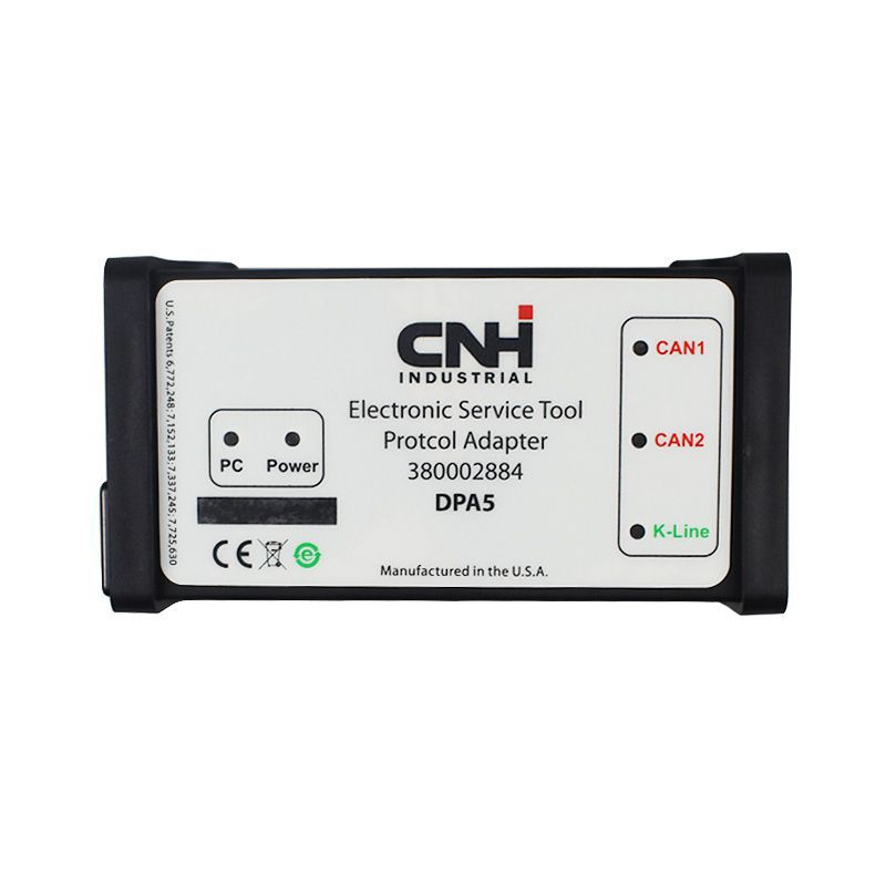 Equipo de diagnóstico CNH DPA 5 - New Holland Electronic Maintenance Tool CNH est