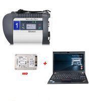 DOIP MB SD C4 PLUS Connect Compact C4 Star Diagnosis with 2020.03 Software SSD Plus Lenovo X220 I5 4GB Laptop