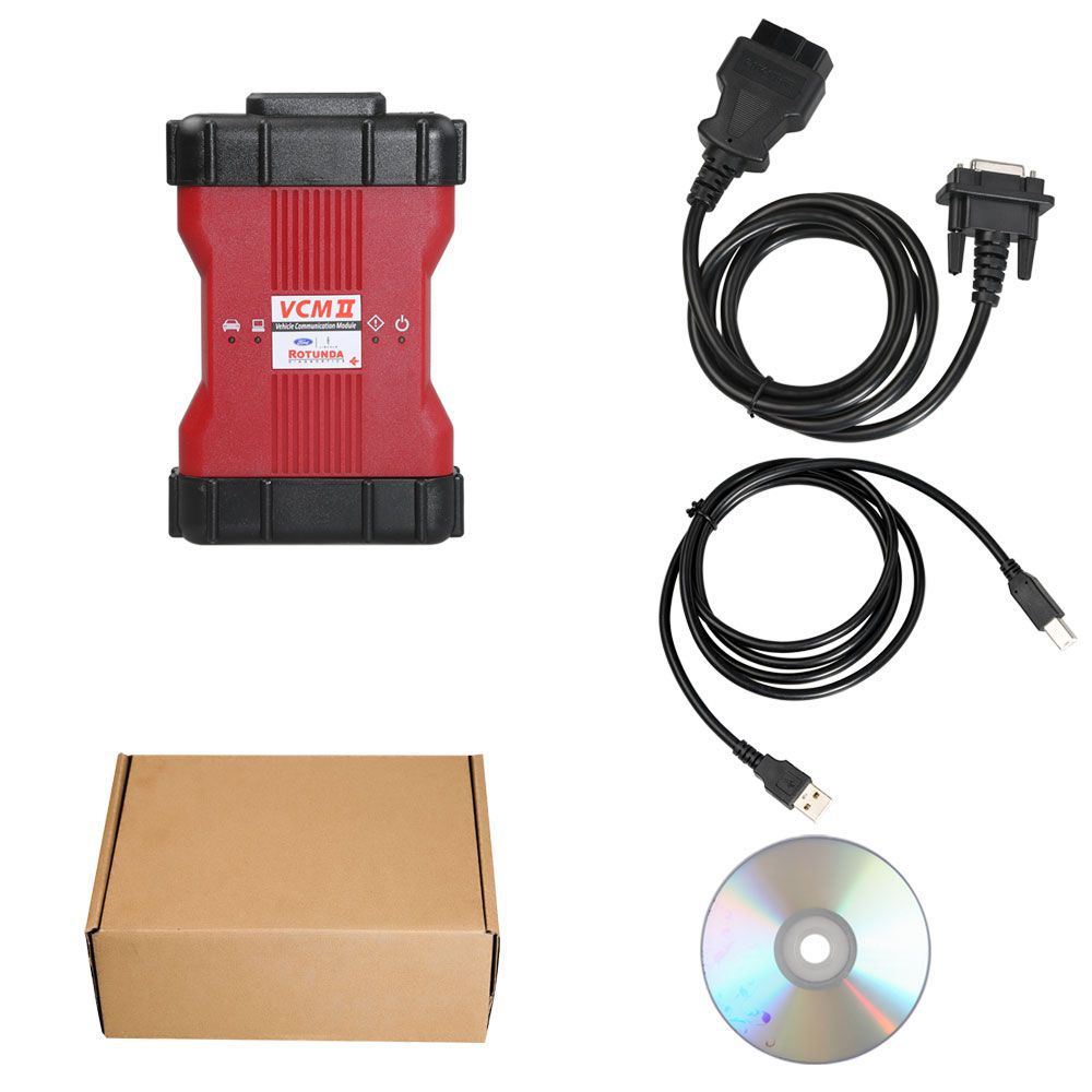 VCM II Diagnostic Tool for Ford IDS V117 Installation without VMware Supports Online Programming