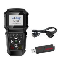Godiag m201 Ford manual OBDII rith Adapting Professional Tools
