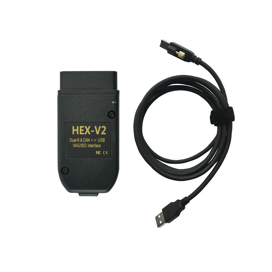 HX - V2 Hex V2 dual K & can USB VAG Diagnosis Interface v19.6 Volkswagen Audi skoskada