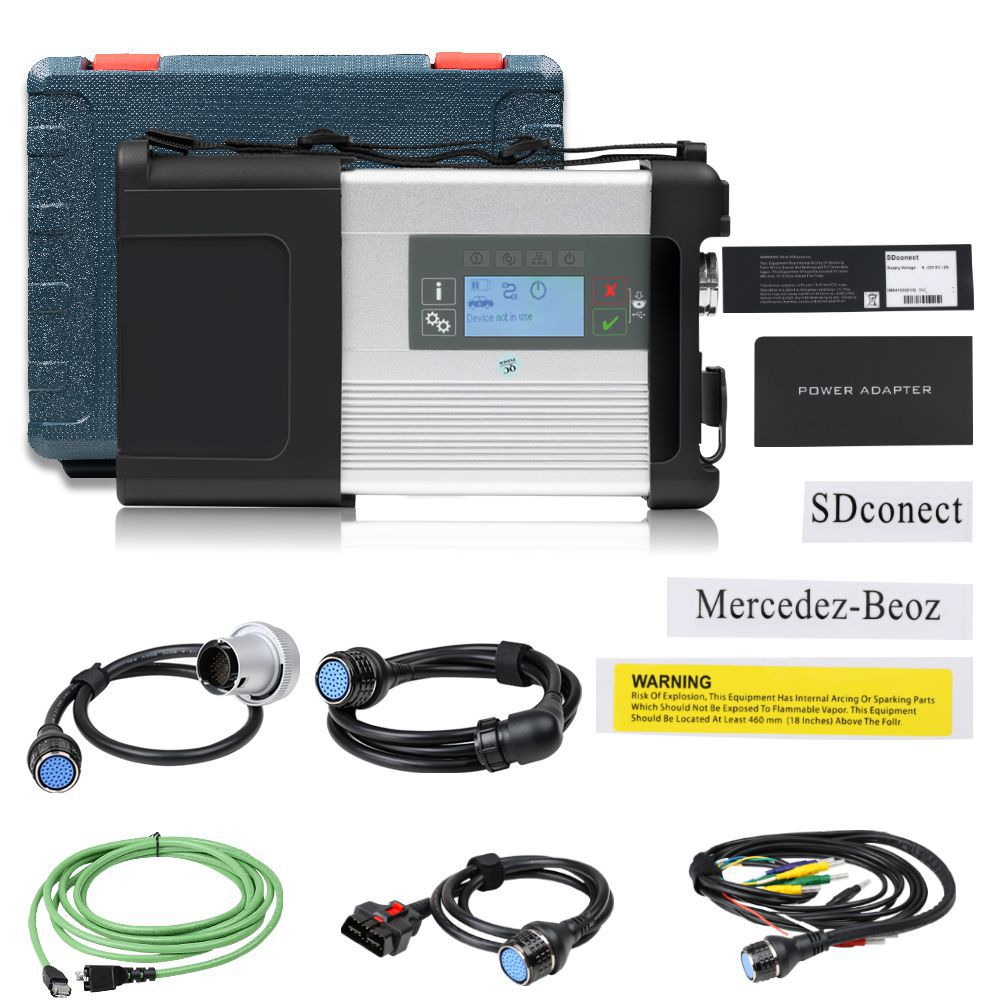 MB SD - C5 Mercedes C5 dorip Star Diagnostics with WiFi for Cars and trucks in Plastic case no software