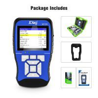 Jdiag m100 universal Motorcycle default Diagnosis + 12v Battery Test device Diagnosis for two System Motorcycle