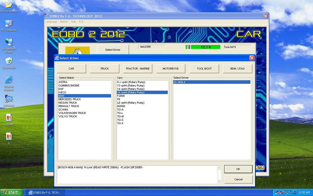 Fgteco 0475 galetto v54 Software Interface