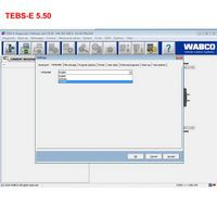 Wabco Diagnosis software wabco tebs - e 5.50 + pin calculador + New activtor versiones en inglés y alemán