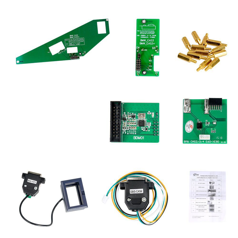 Yanhua Mini ACDP Master with Module1 BMW CAS1-CAS4+ IMMO Key Programming and Odometer Reset Adapter